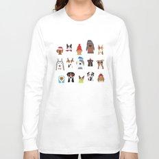 Winter dogs Long Sleeve T-shirt
