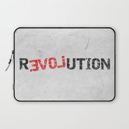 A Simple Message Laptop Sleeve