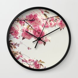 Cherry blossom tree Wall Clock