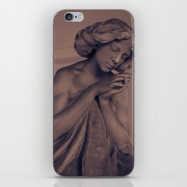 Silent Prayer iPhone Skin