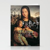 madonna Stationery Cards featuring Madonna  by Mexicanfood