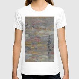 Eugne Boudin - Étude de ciel sur le Bassin du Commerce au Havre T-shirt