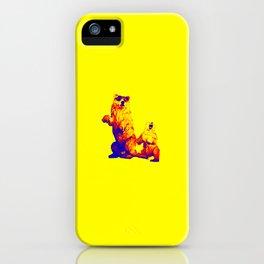 Ours Republique yellow iPhone Case