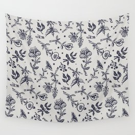 Frightening plants and creatures Wall Tapestry
