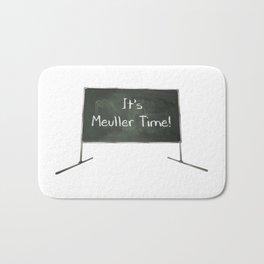 It's Mueller Time Chalkboard Bath Mat