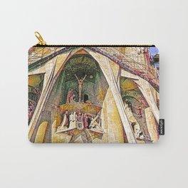Gaudi Sagrada Familia, Barcelona - Detail Carry-All Pouch