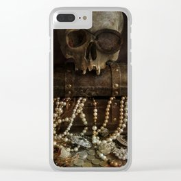 The Lost Treasure Clear iPhone Case