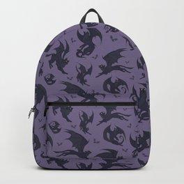 Batcats purple Backpack