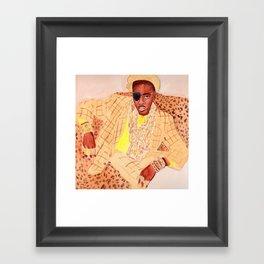 Slick Rick Framed Art Print