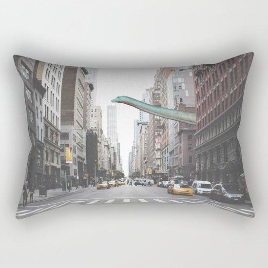 Diplodocus in Chicago Rectangular Pillow