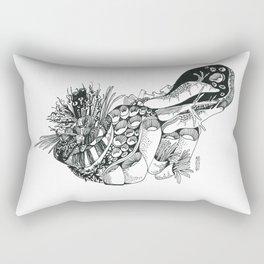 Listening Rectangular Pillow
