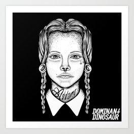 Addams Art Print