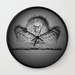Flying hourglass Wall Clock