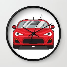 Red 2013 FR-S Wall Clock