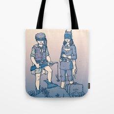 Moonrise Gotham Tote Bag