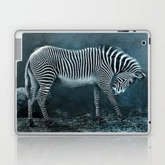 blue zebra Laptop & iPad Skin