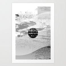 Ficciones Typografika 125 Art Print