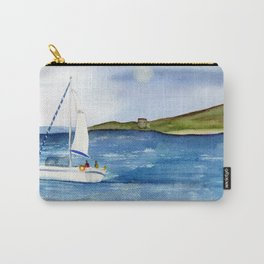 Sailing at full moon Carry-All Pouch