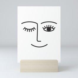 Wink Mini Art Print