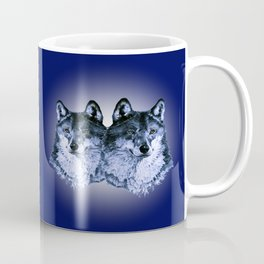 Season of the Wolf - Duet in Sapphire Coffee Mug