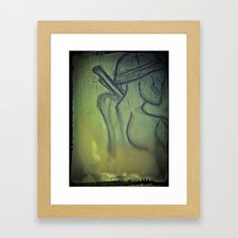 Onward Soldier Framed Art Print