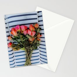Sketchy Flowers 2 Stationery Cards