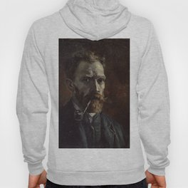 Vincent van Gogh - Self-Portrait with Pipe Hoody