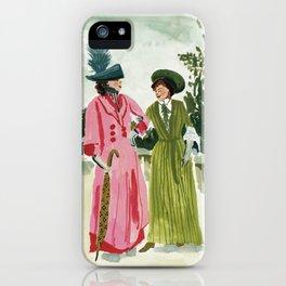 Fancy Ladies iPhone Case