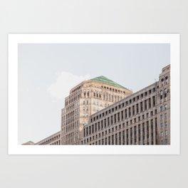 Chicago - The Mart Art Print