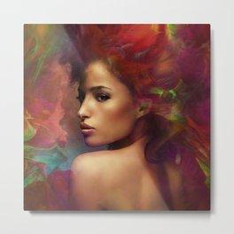 fantasy woman sensation Metal Print