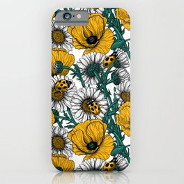 The meadow in yellow iPhone Case