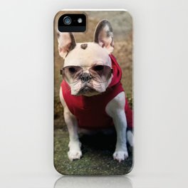 Frencie Thug Life iPhone Case