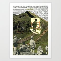 Are You On The Fence About Useless Information ? Art Print