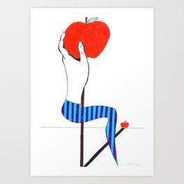 Candy Dance Art Print