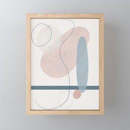 Correlation III Framed Mini Art Print