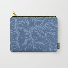 Ferning - Blue Carry-All Pouch