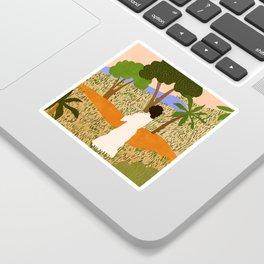 The Unknown Path Sticker