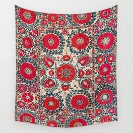 Shakhrisyabz Bokhara Uzbekistan Silk Embroidery Print Wall Tapestry