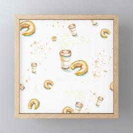 Breakfast Framed Mini Art Print