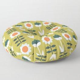Set Sun Olive Floor Pillow
