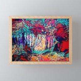 Trippy Forest Dream Framed Mini Art Print