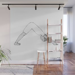 yoga pose 4 Wall Mural