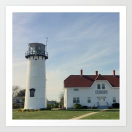 Cape Cod New England Lighthouse Art Print