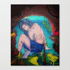 Bound & Cavernous Canvas Print