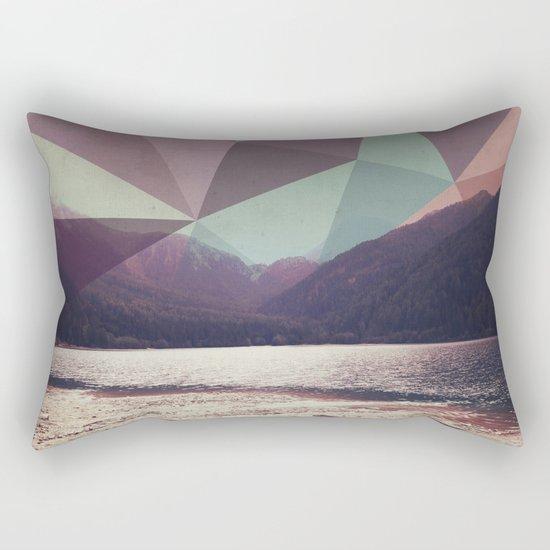 Autumnal Mountains Rectangular Pillow