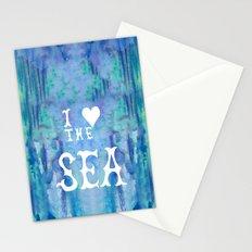 I Love the Sea 2 Stationery Cards