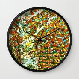 Autumn Aspen Wall Clock
