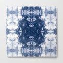 Shibori Tie Dye 2 Indigo Blue by followmeinstead