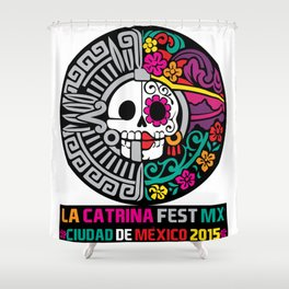 La Catrina Fest MX 2015 Shower Curtain