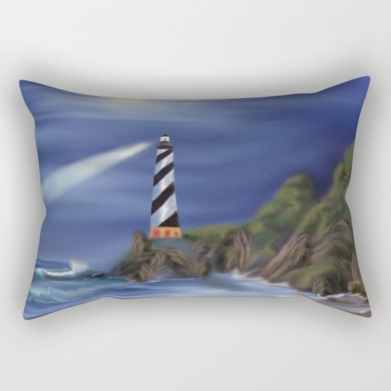 The Forgotten Shore Rectangular Pillow
